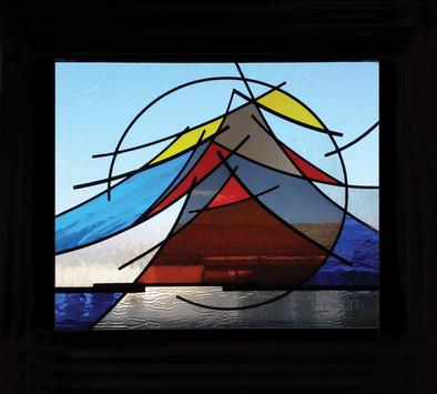 'MOUNTAIN' WINDOW PANEL