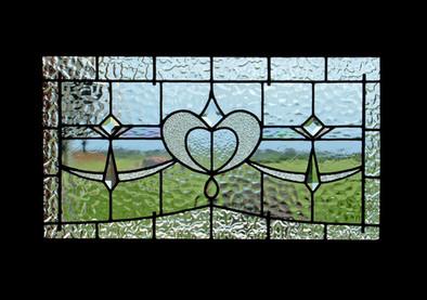 LEADLIGHT WINDOW PANEL