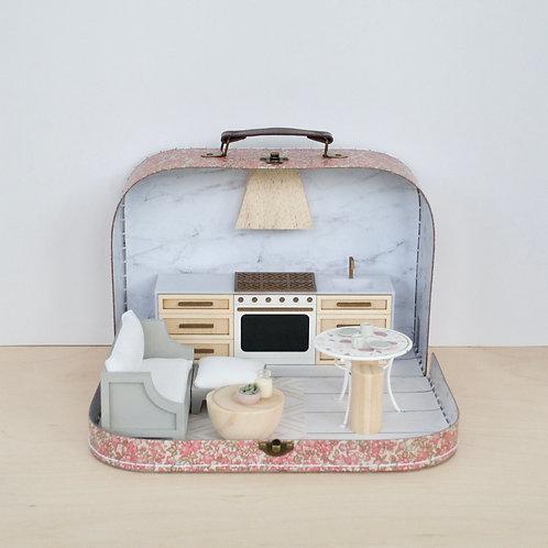 Marbled Travel Dollhouse