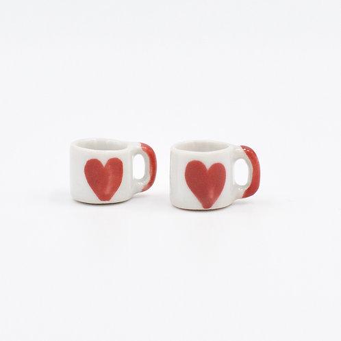 Heart Mugs (Set of 2)