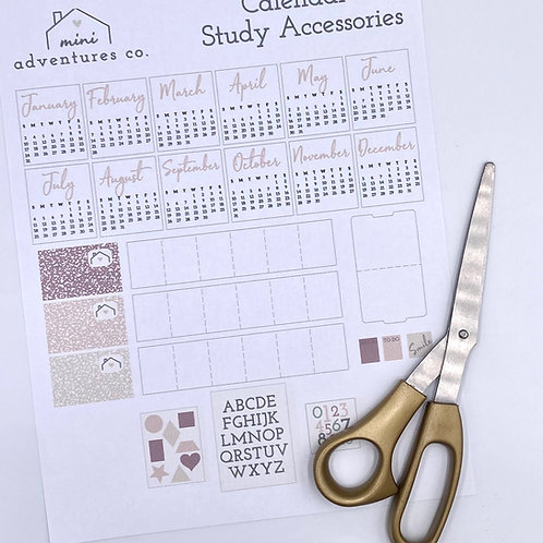 Calendar and Study Accessories