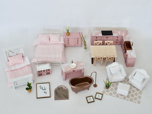 Pretty in Pink and Copper Full House Package