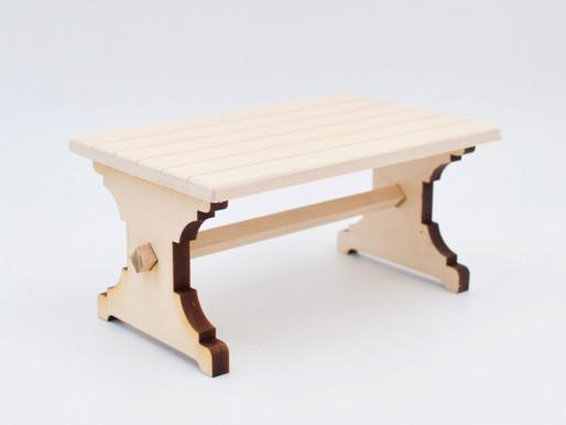 Trestle Table DIY Kit
