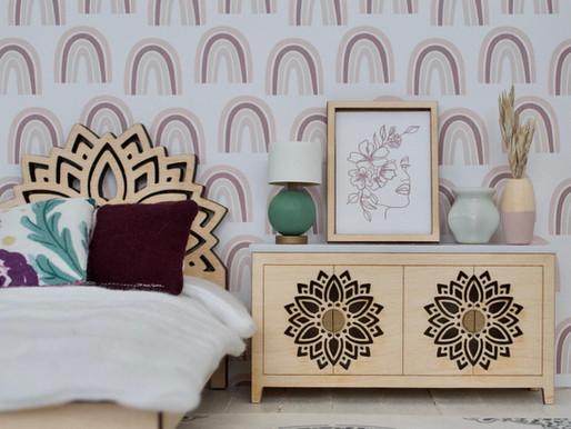 DIY Kit: Mandala Cabinet