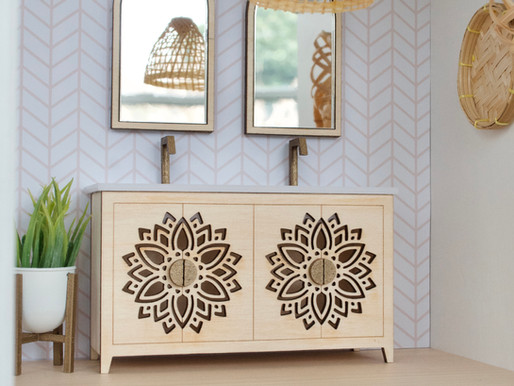 DIY Kit: Mandala Vanity