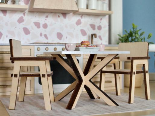 DIY Kit: X Squared Table