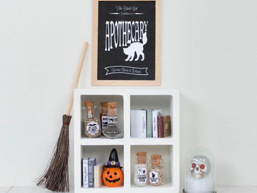 Halloween Decor & Free Printable