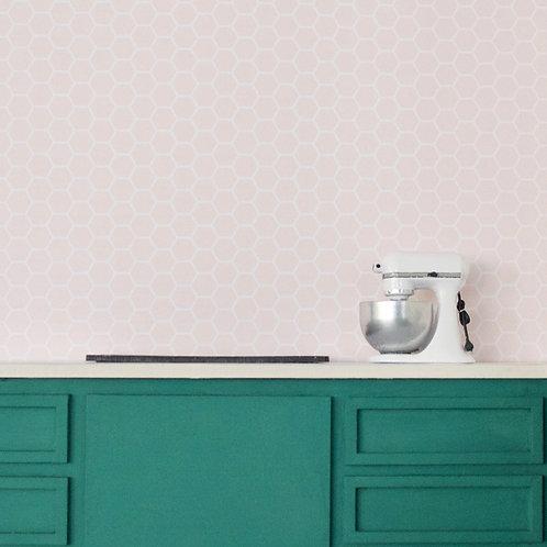 Pink Hex Tile