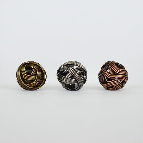 Decorative Metal Orbs