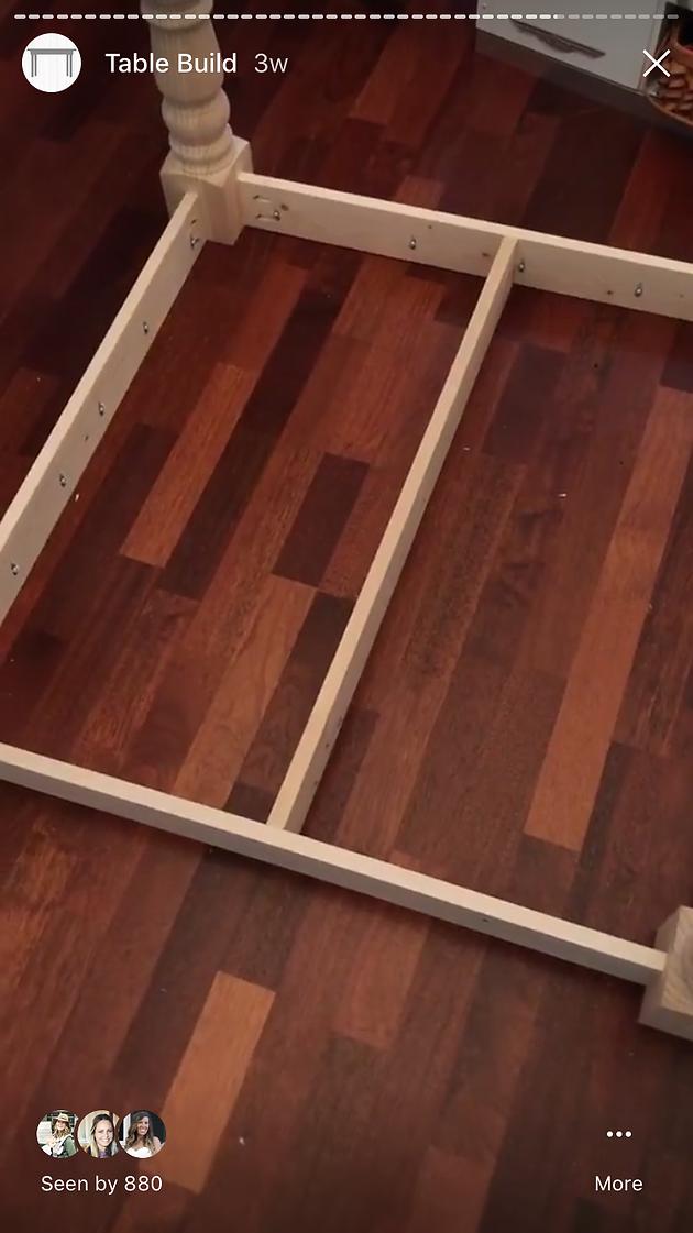 Farmhouse Coffee Table | sawdustangel