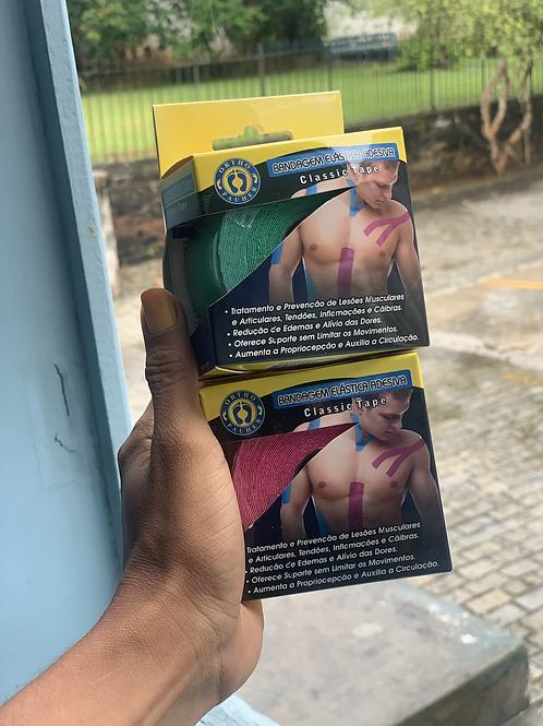 Bandagem Elástica Adesiva Classic Tape Ortho Pauher