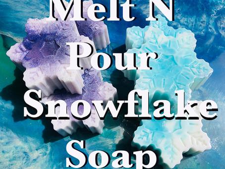 Snowflake Frozen Soap Party Favors!