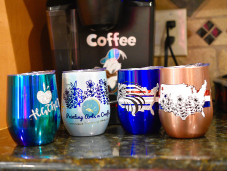 4 Multilayer Stainless Cups Iron-on Projects!