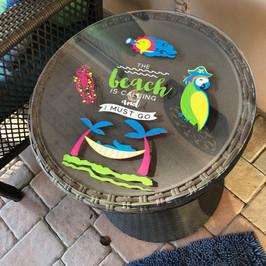 Porch Tabletop Beach Theme