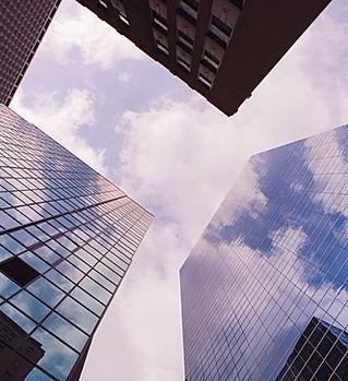 städtische Wolken
