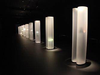 Helen Pashgian, Light sculpture