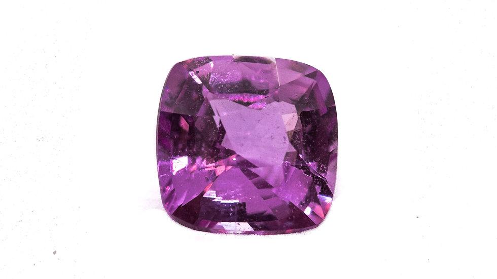 Pink Sapphire | RZ218-14E | 7.1MM cush. 1.99 ct. | 1880K/CT.