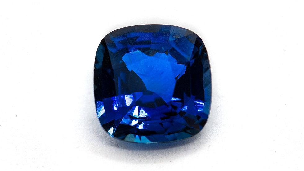 Ceylon Sapphire  | 8.2 x 8.0 cush. | 2.70CT | 3000K/CT