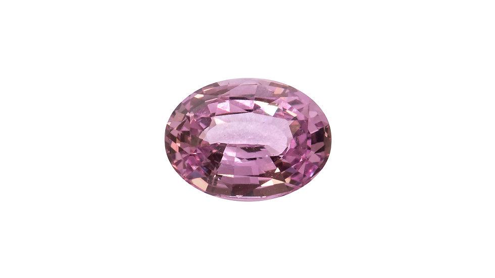 Baby Pink Sapphire | NR518DE | 2.59ct | .1,900K/ct | 9.8x7.3 ov | AGL CERT