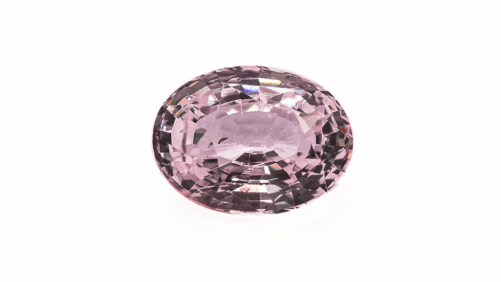 Baby Pink Sapphire | VS218-H | 8.6 x 6.5 ov. no heat 2.08 ct. | 1600K/CT.