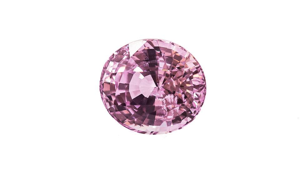 Baby Pink Sapphire | SK917-DE | 7.7 x 6.7 ov. no heat 2.11 ct. | 1900K/CT.