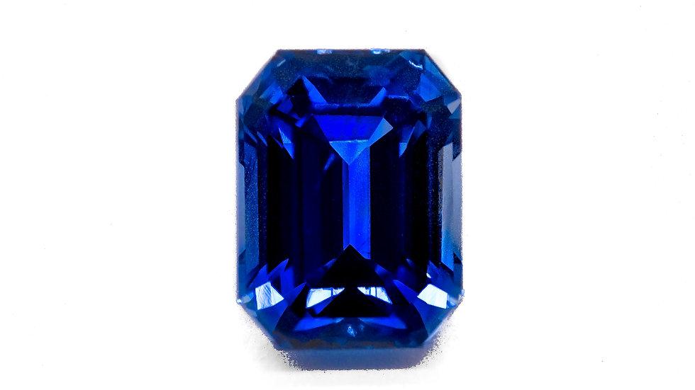 Ceylon Sapphire |  SK417-11E  | 8 x 6 E.C. | 2.57CT | 2800K/CT