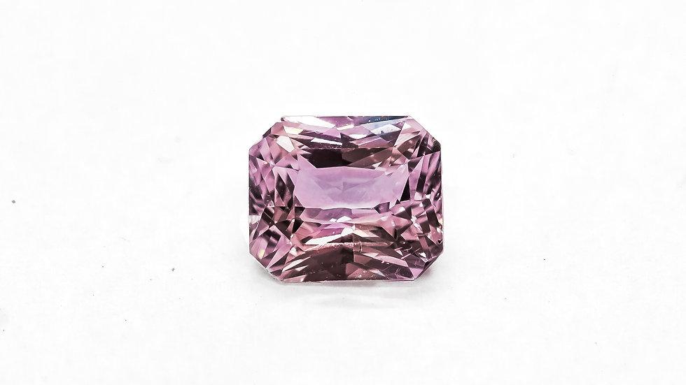 Baby Pink Sapphire | RZ417-14F | 7.4 x 6.4 radiant no heat 2.06 ct. | 900K/CT.