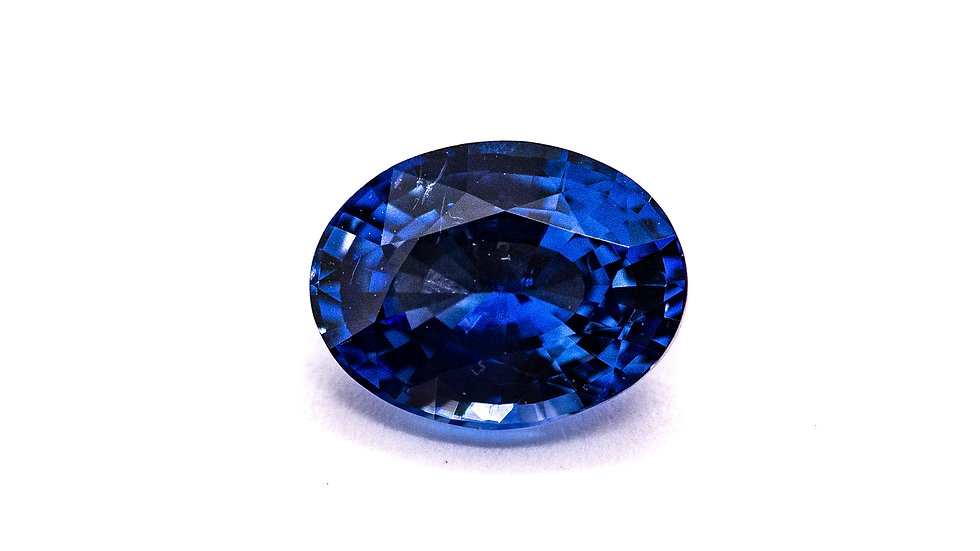 Ceylon Sapphire |  ST218-4F  | 9 x 6.9 ov. | 2.06CT | 2700K/CT