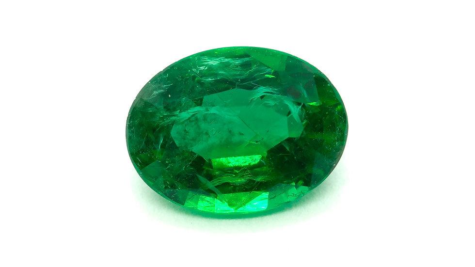 Emerald |  TK218-5D  | 7.9 x 5.9 ov. | .97CT | 3100K/CT
