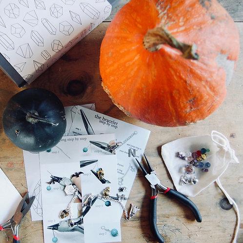 Halloween charm bracelet box