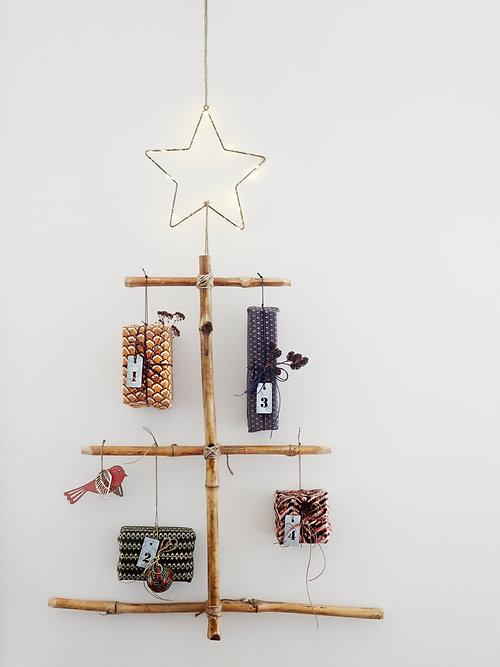 bamboo stick christmas tree - Stick Christmas Tree