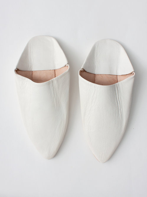Pointed Babouche Slippers
