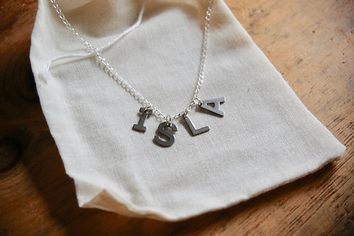 Name Necklace Box