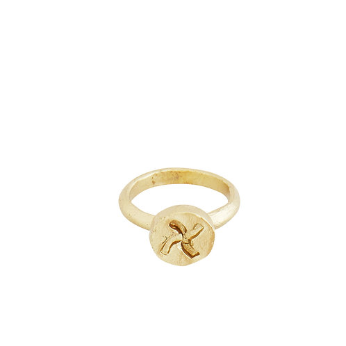 Hand Forged Gold Ring