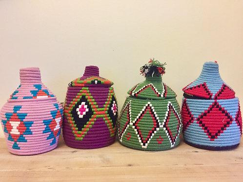 Moroccan wool pots