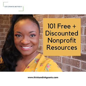101 Free and Discounted Nonprofit Resour