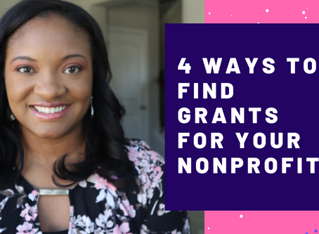 4 Ways to Find Grants For Your Nonprofit