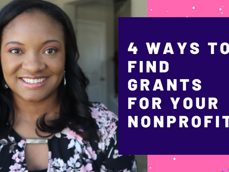 Four Ways to Find Grants For Your Nonprofit