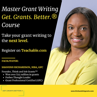 Master Grant Writing to Get.Grants.Bette