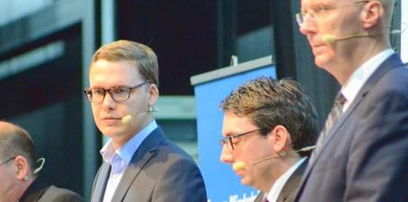 """WAZ: """"Mitglieder wählten Stefan Rouenhoff (37) aus Goch"""""""