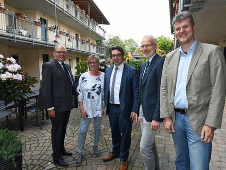 RP-Online: Stefan Rouenhoff zu Gast in seiner Heimatstadt Goch