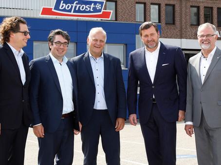 RP-Online: Politiker informieren sich bei Bofrost über Ernährungs-Ampel