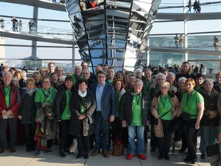 Kreis Klever Goldgewinner zu Besuch im Bundestag