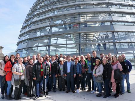Freiwillige Feuerwehr Goch zu Besuch im Bundestag