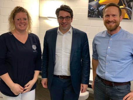 Rouenhoff unterstützt neue Wege in der hausärztlichen Versorgung
