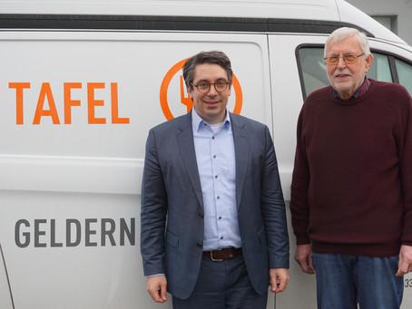 Rouenhoff: Tafeln im Kreis Kleve leisten herausragende ehrenamtliche Arbeit