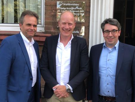 Rouenhoff: Beginn des geförderten Glasfaserausbaus im Kreis Kleve ist wichtiges Signal