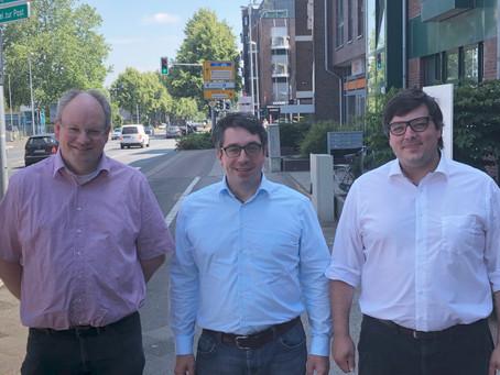 Rouenhoff trifft deutsch-niederländische Gewerkschafter