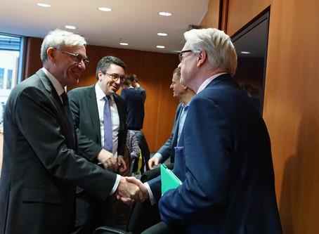 Bundespräsident a.D. Prof. Dr. Horst Köhler: Europas Zukunft mit Afrikas Perspektiven verknüpft