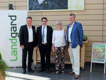 CDU-Politiker blicken hinter die Kulissen der Erzeugergenossenschaft Landgard